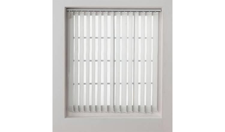 Cheap Vertical Window Blinds.Buy Argos Home Vertical Blind Slats Pack 4 5ft White Blinds Argos