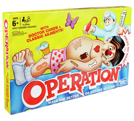 buy classic operation game from hasbro gaming board games argos