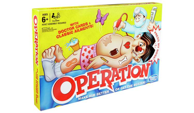 Classic Operation Game from Hasbro Gaming