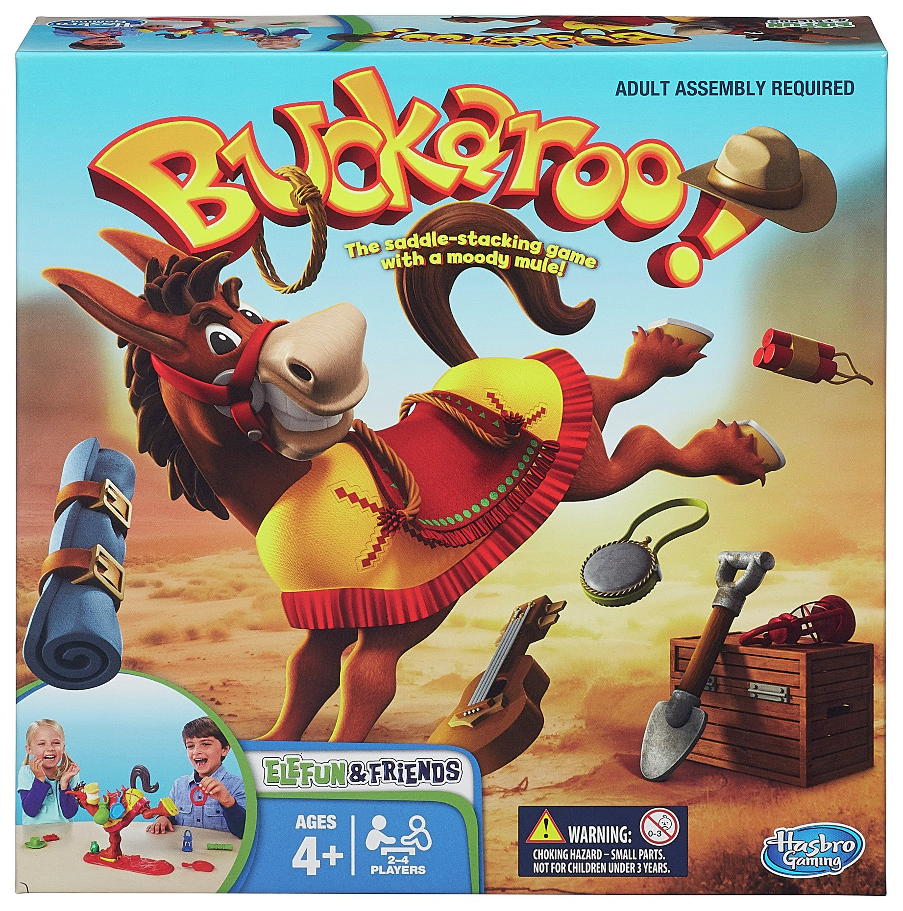 Image of Buckaroo Game from Hasbro Gaming.
