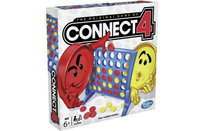 Connect 4 Grid Board Game from Hasbro Gaming