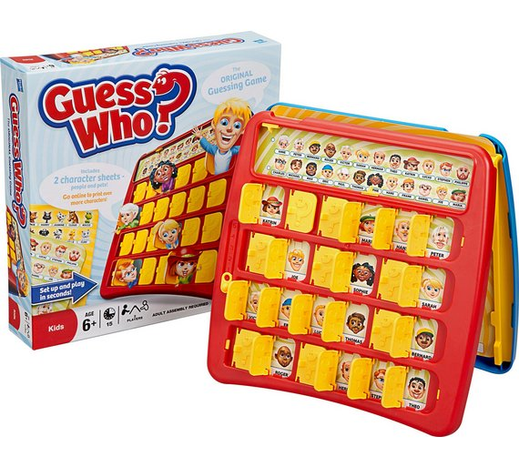 Buy Guess Who Board Game From Hasbro Gaming Board Games Argos