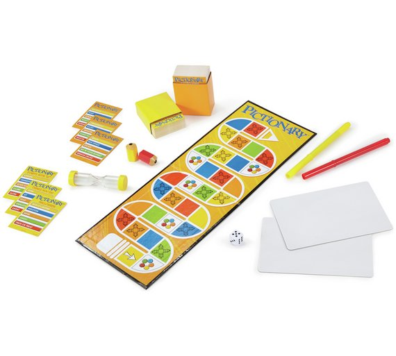Buy Pictionary Family Edition Board Game | Board games | Argos
