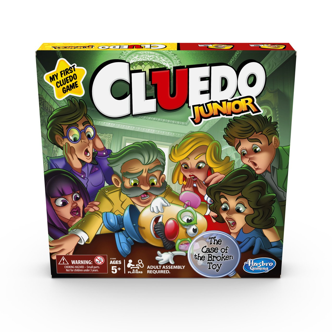 Image of Cluedo Junior Carnival Board Game from Hasbro Gaming.