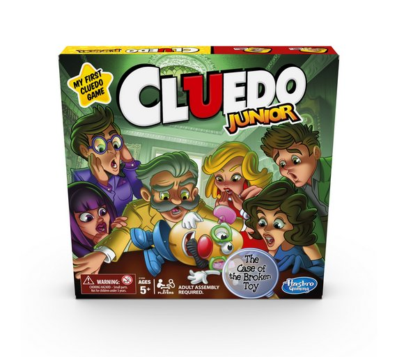Buy Cluedo Junior Game From Hasbro Gaming Board Games Argos