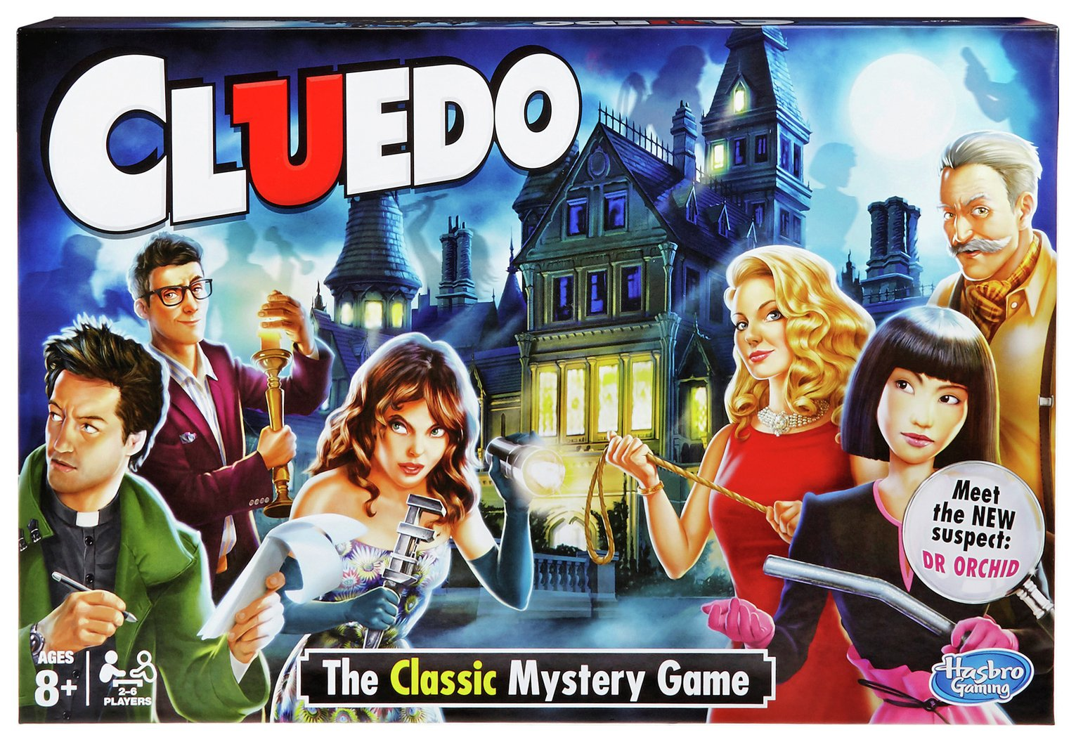 Image of Cluedo Classic Board Game from Hasbro Gaming