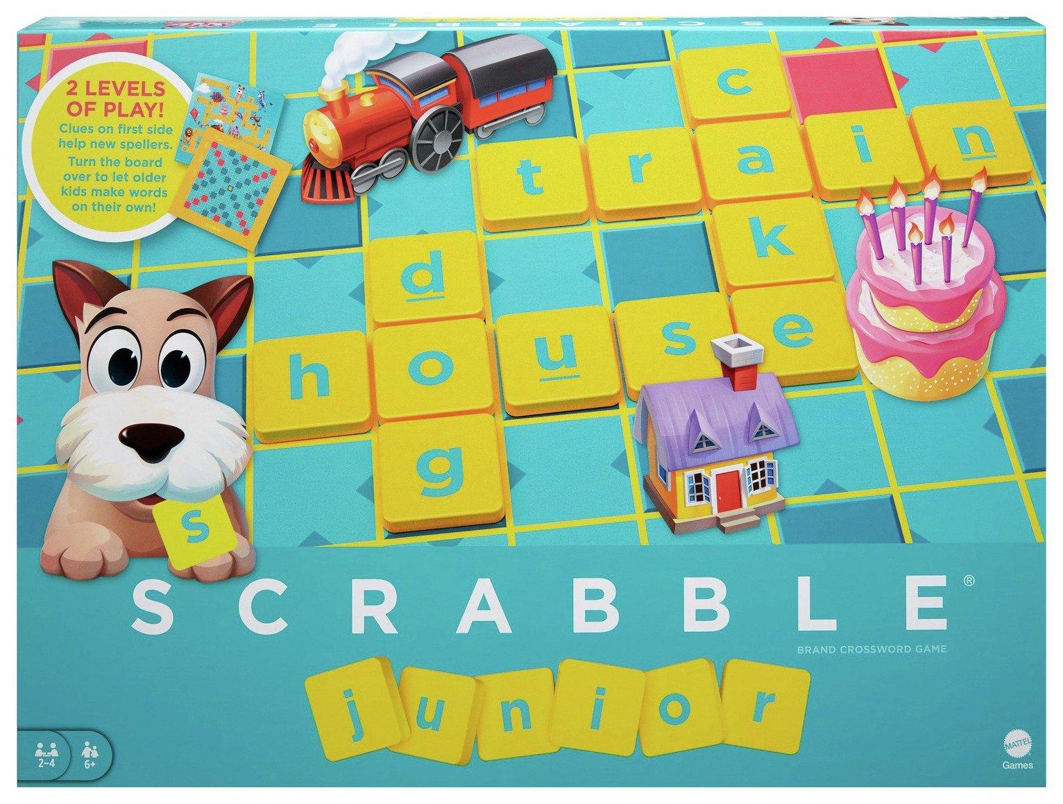 Scrabble Junior Board Game.