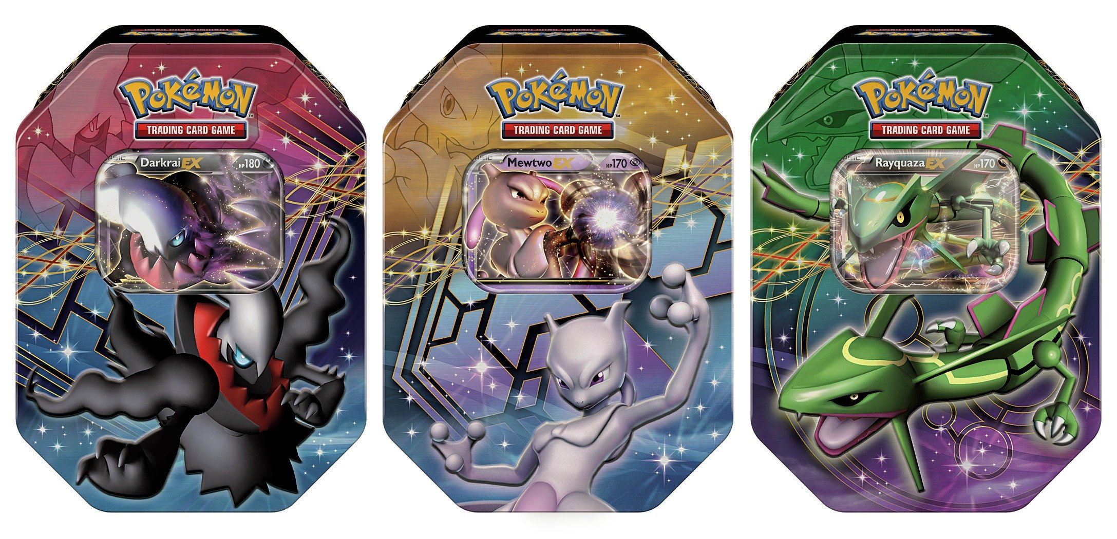 Pokemon Limited Edition Card Tin Assortment