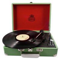 GPO - Attache Case Turntable - Apple Green