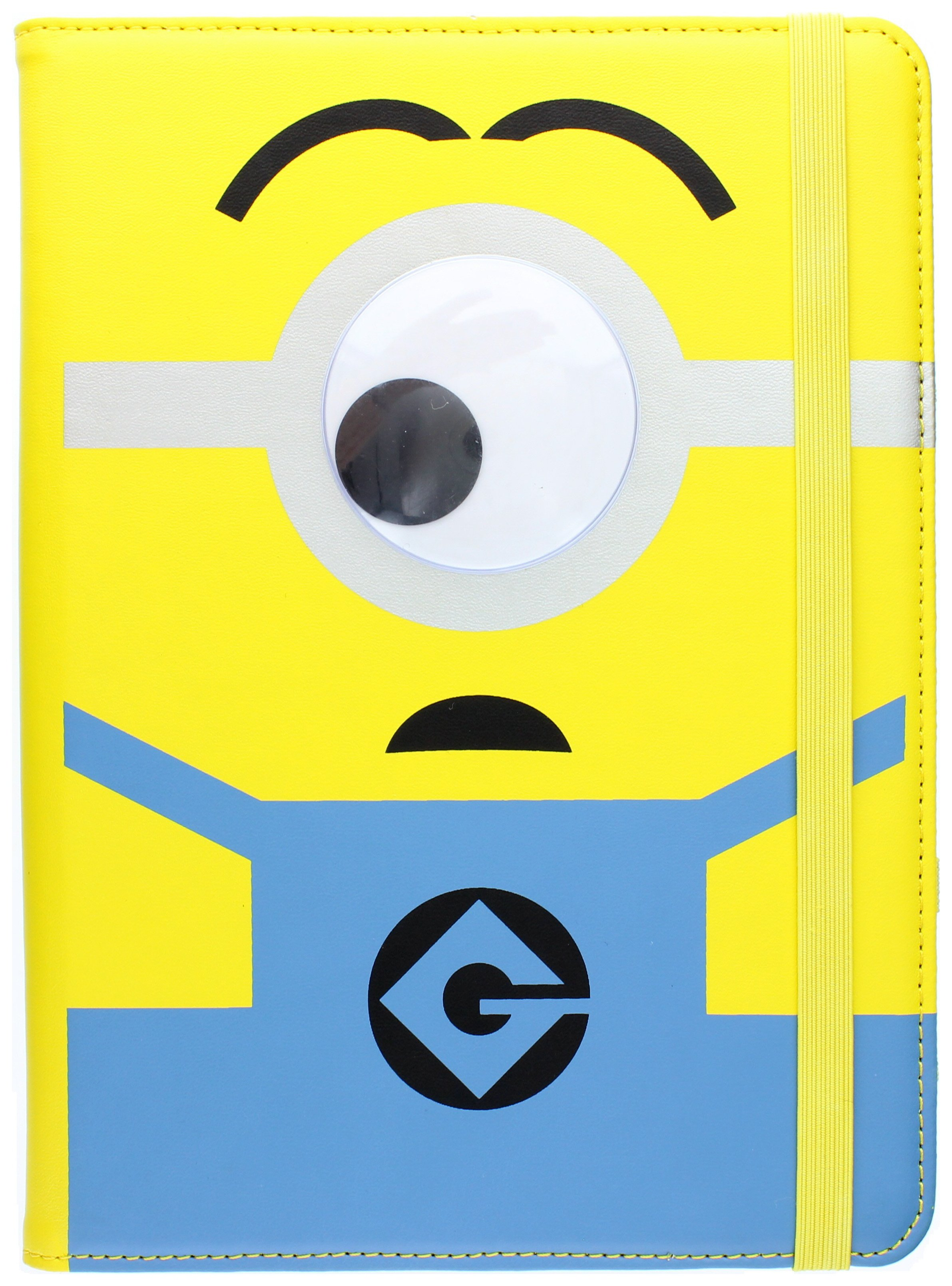 Minions Minions Uni Tab 8 Goggly Eye Case - Yellow