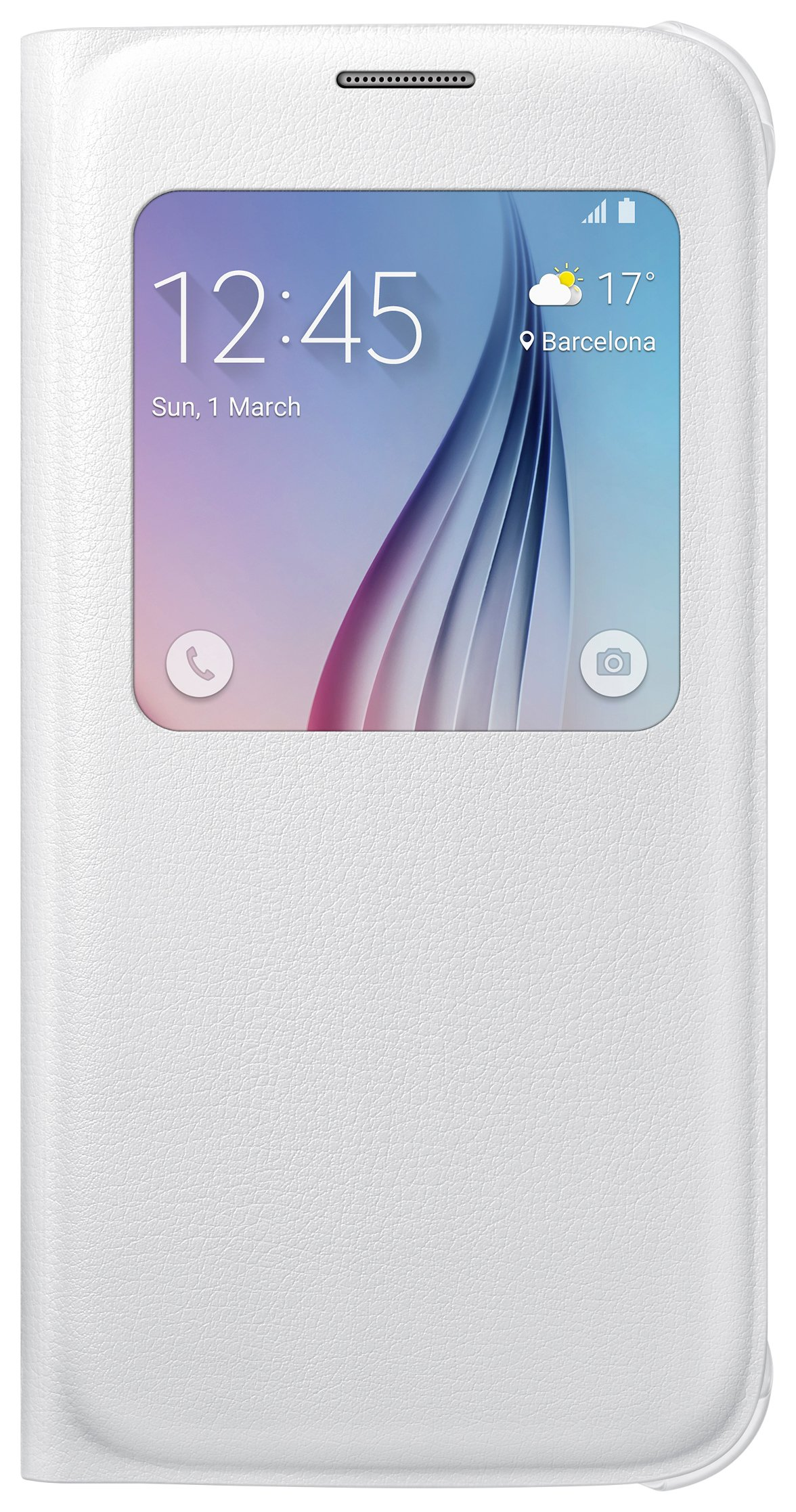 Samsung Samsung Galaxy S6 S-View Cover - White