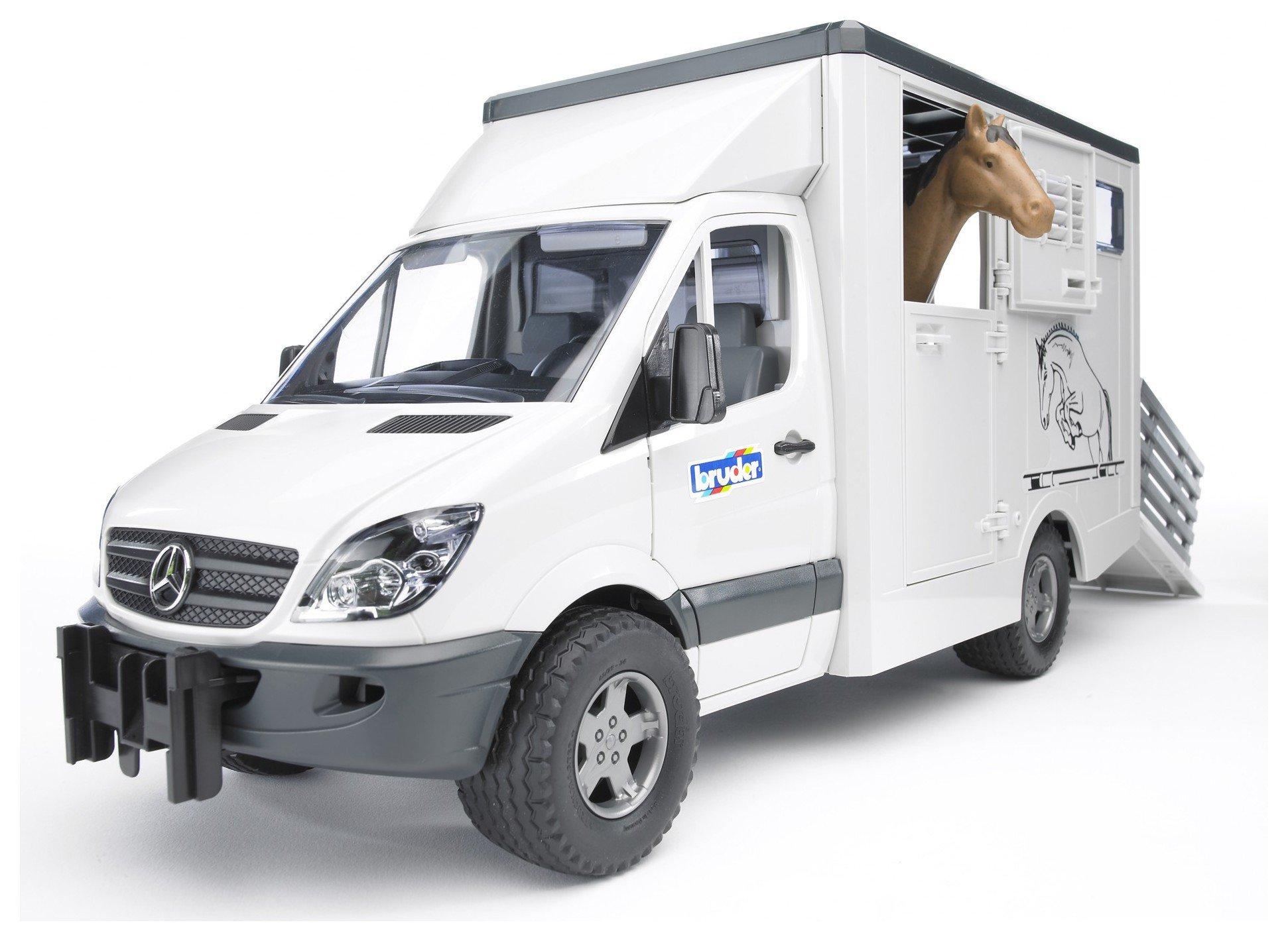Bruder Mercedes-Benz Sprinter Animal Transporter.