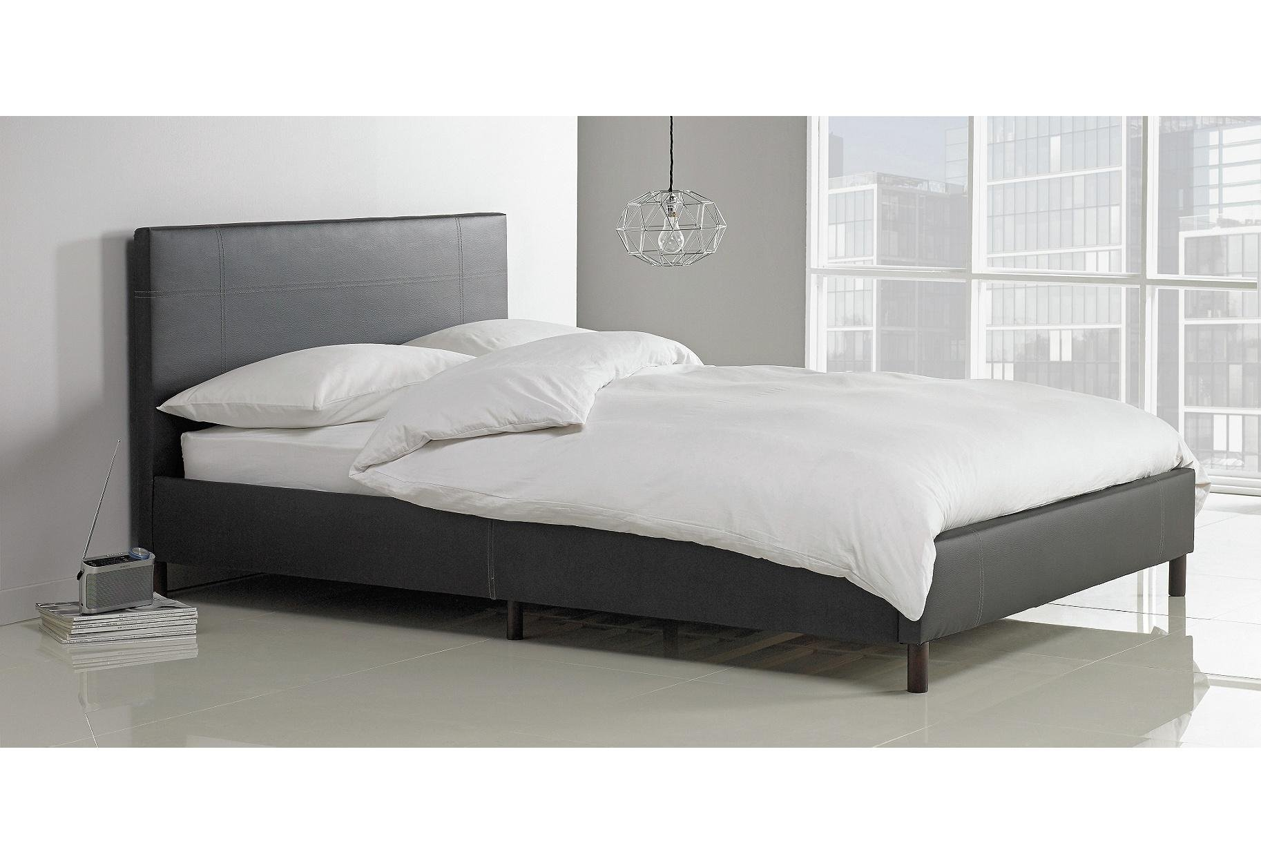 Buy HOME Erica Double Bed Frame Black at Argoscouk Your