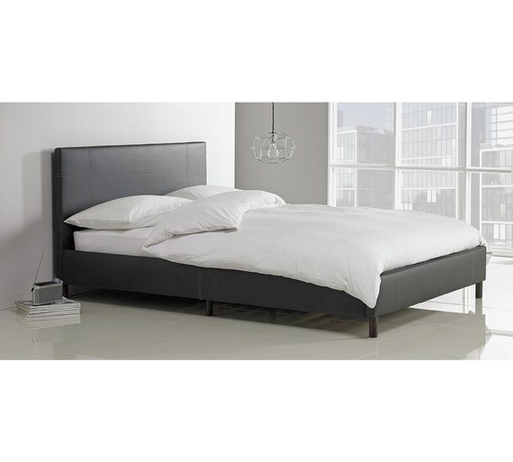 Buy Argos Home Erica Double Bed Frame - Black | Bed frames | Argos