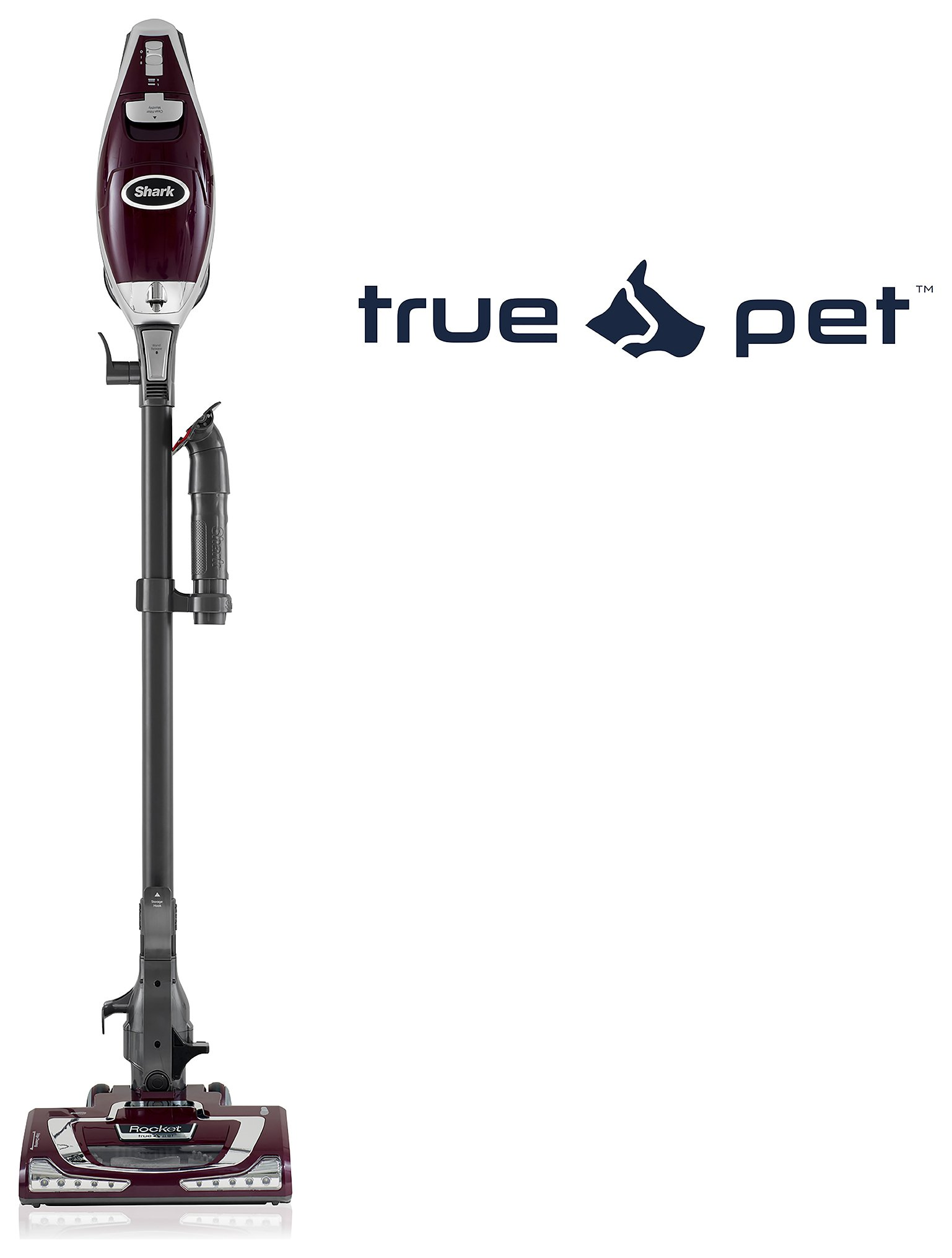 Shark - HV320UKT Lightweight Handstick True Pet - Vacuum Cleaner