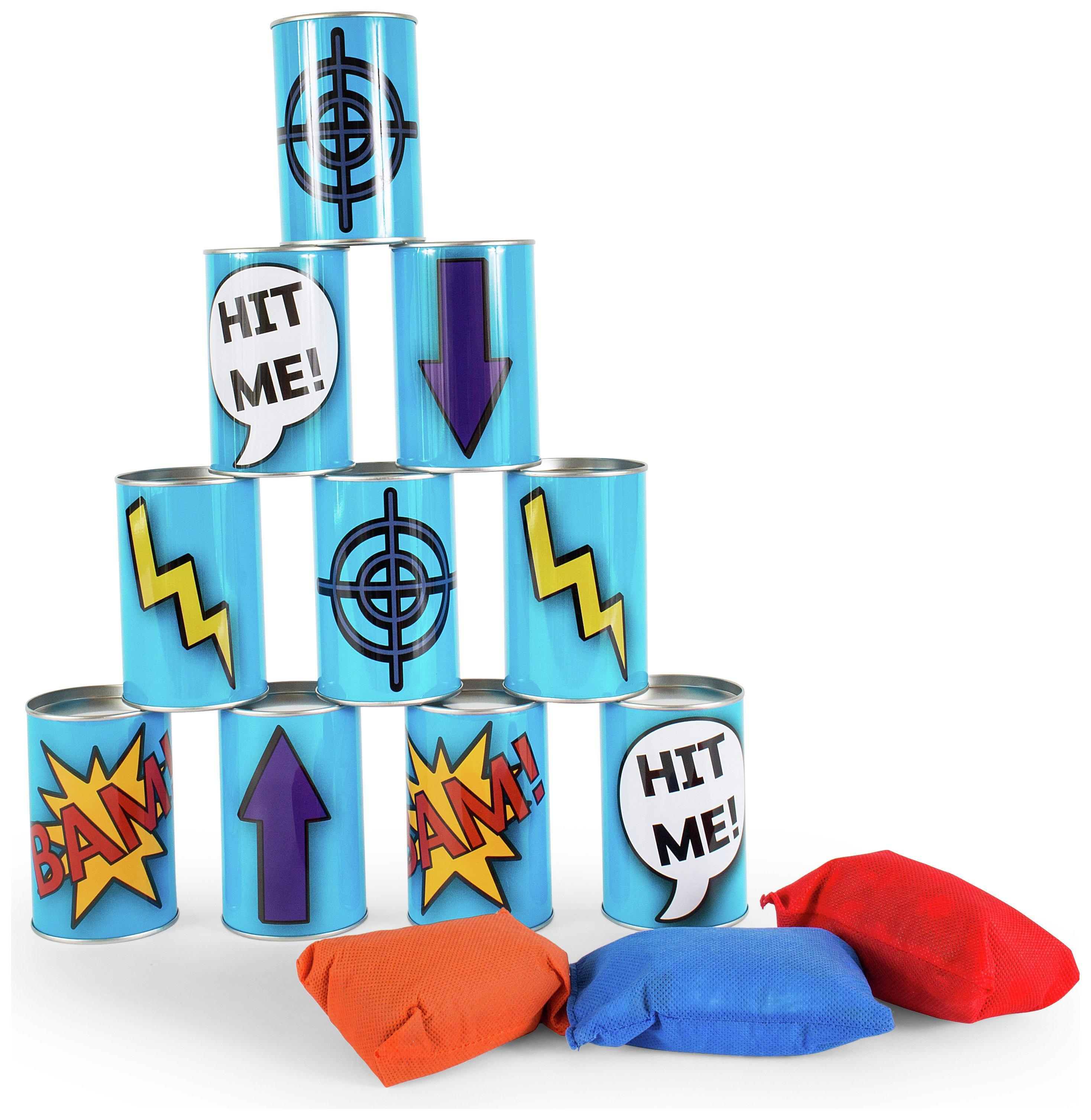 Image of Robbie Toys Buitenspeel Tin Throwing Game.