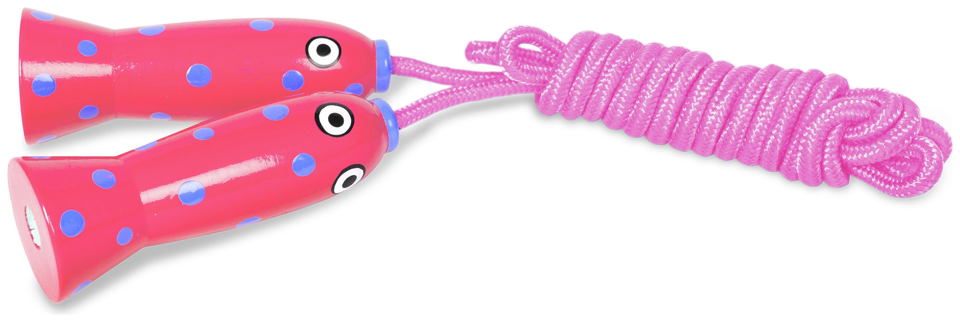 Image of BuitenSpeel Skipping Rope - Pink.