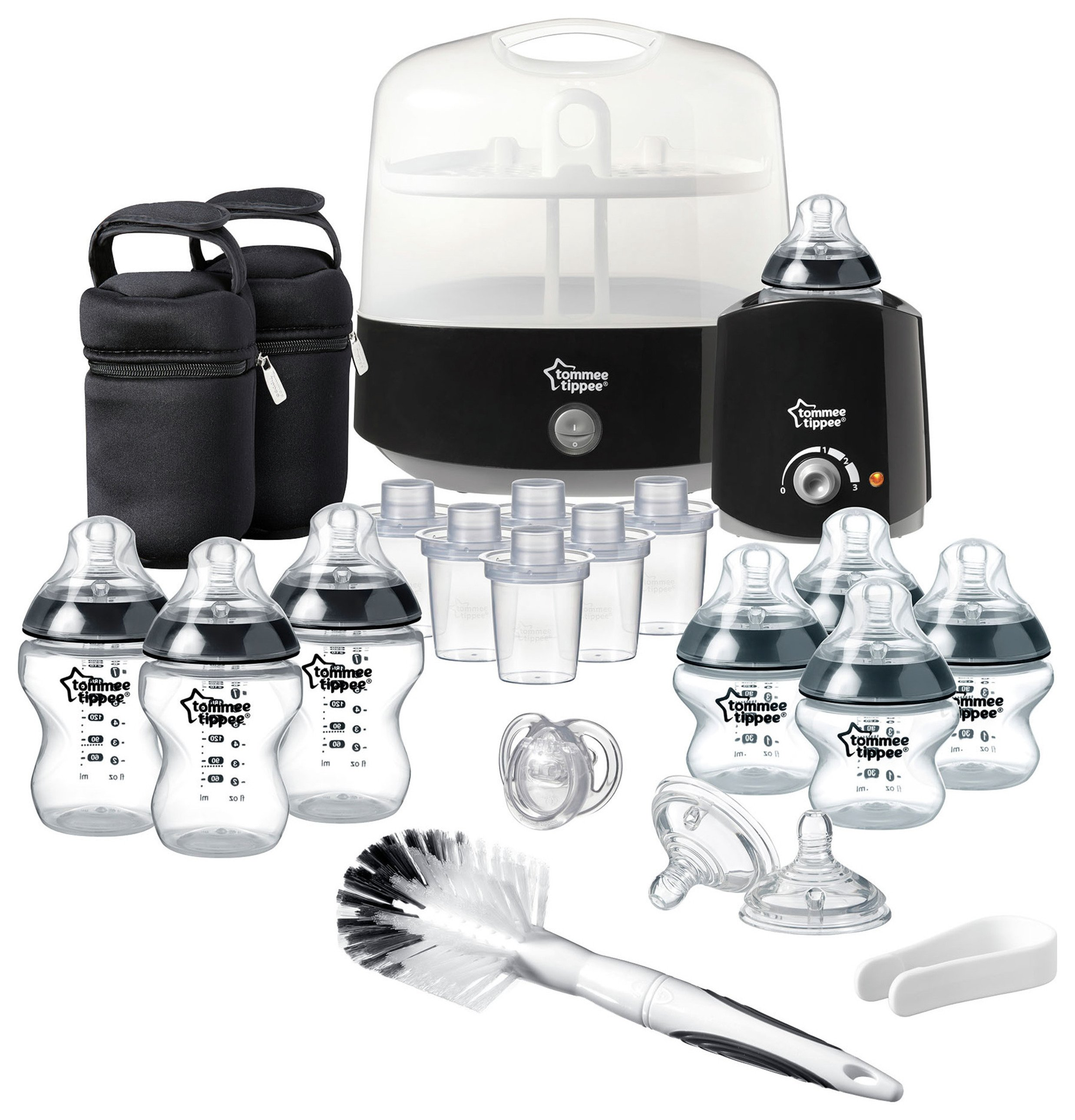 Image of Black Tommee Tippee Essentials Kit.