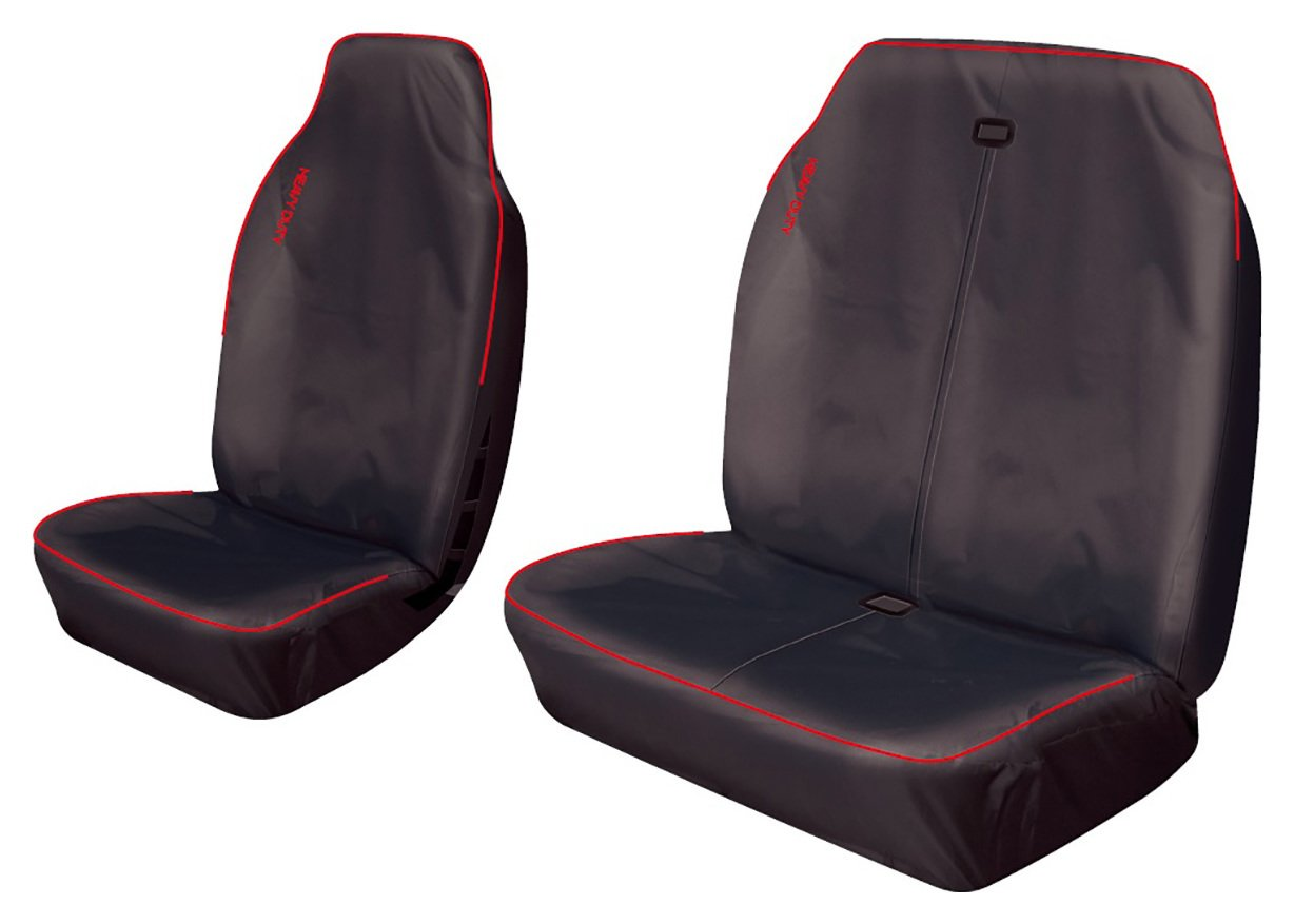 Cosmos Heavy Duty Commercial Sport Seat Covers - Red