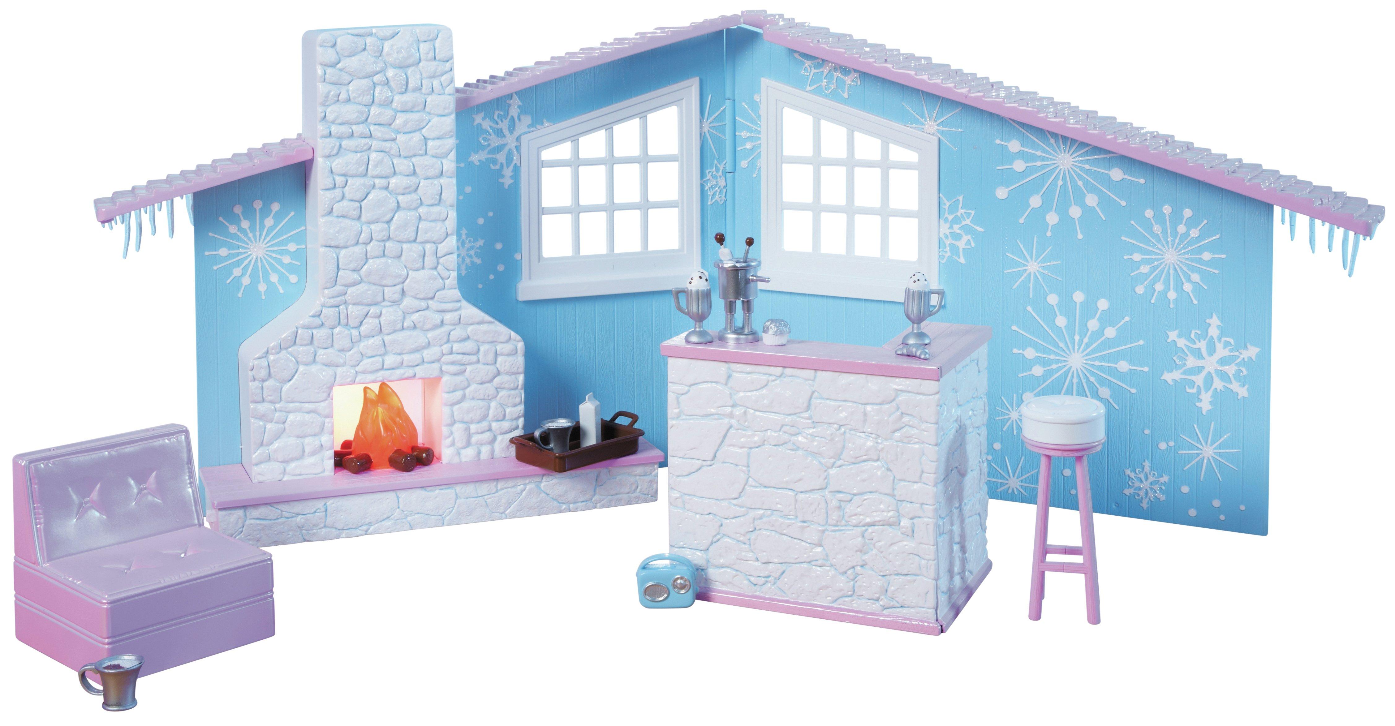 Image of Bratz - SnowKissed Winter Lodge Playset