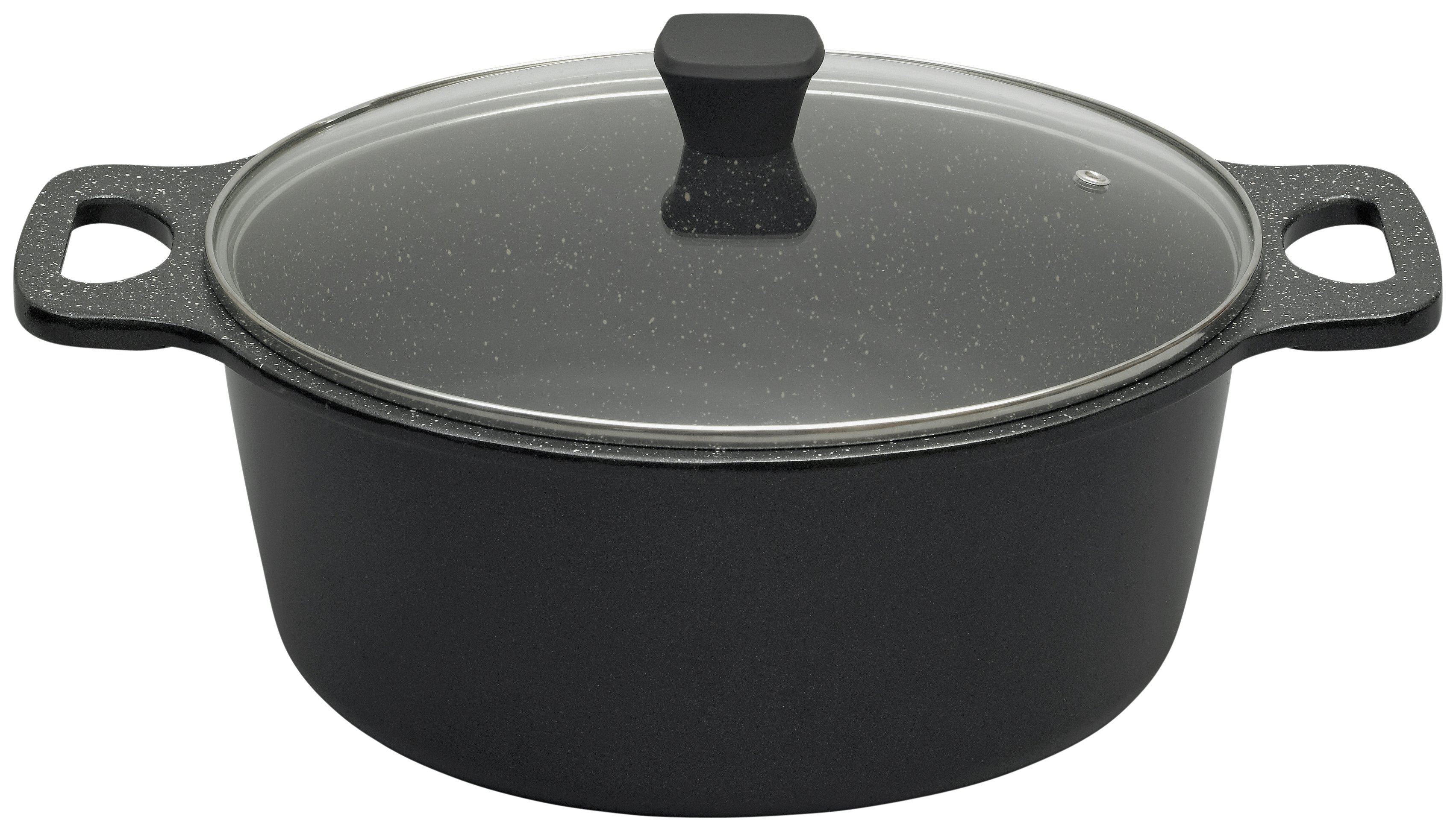 Image of Prestige - Stone Quartz 28cm Casserole Dish and Lid