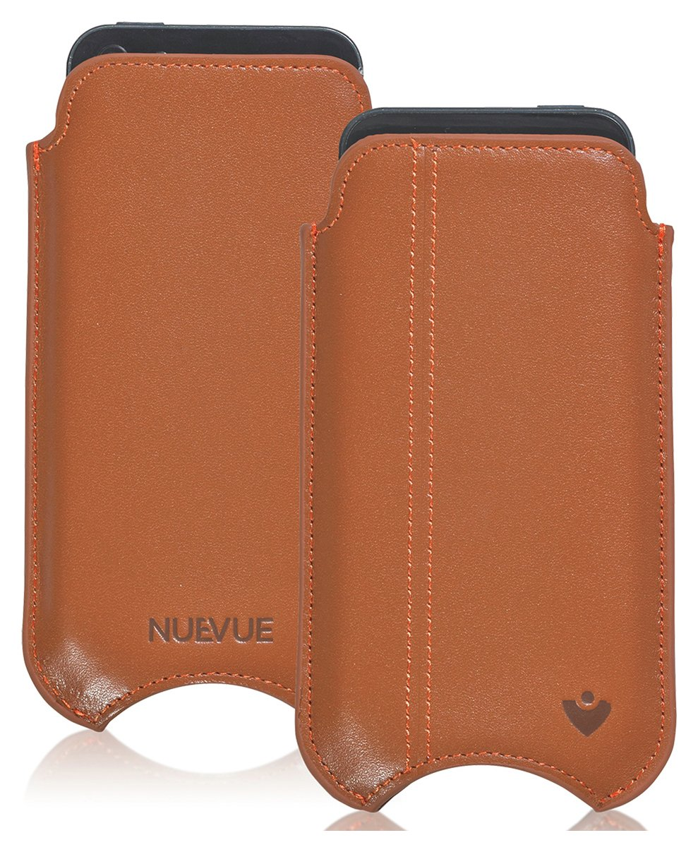 NueVue NueVue Leather iPhone 6 Case - Tan/Purple/Orange