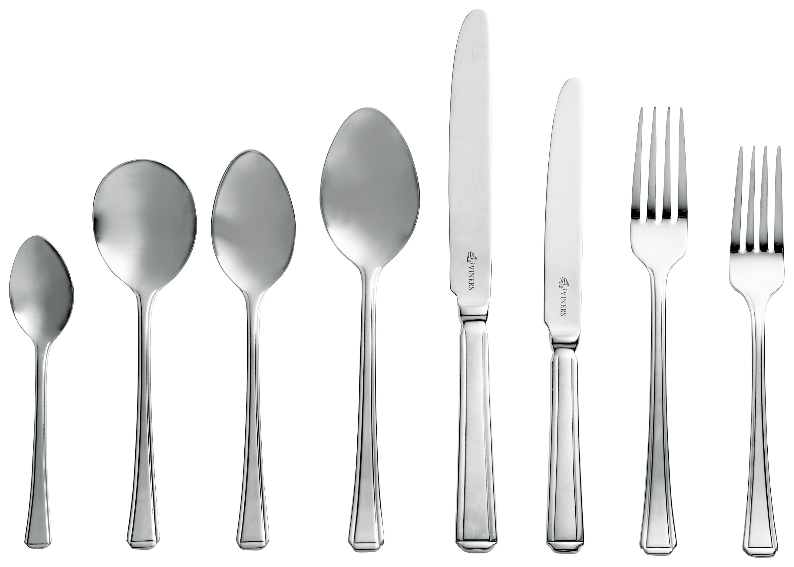 Viners Harley 44 Piece Cutlery Set with Gift Box