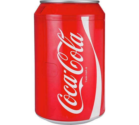 Coca Cola10litre Coke Can Fridge Bedroom Or Store It Under
