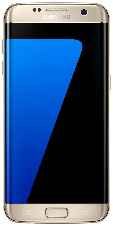 Sim Free Samsung Galaxy S7 Edge- Gold.