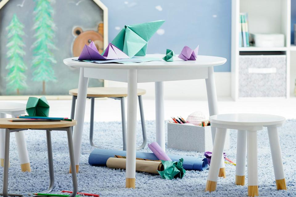 Argos Home Scandi Play Table - White.