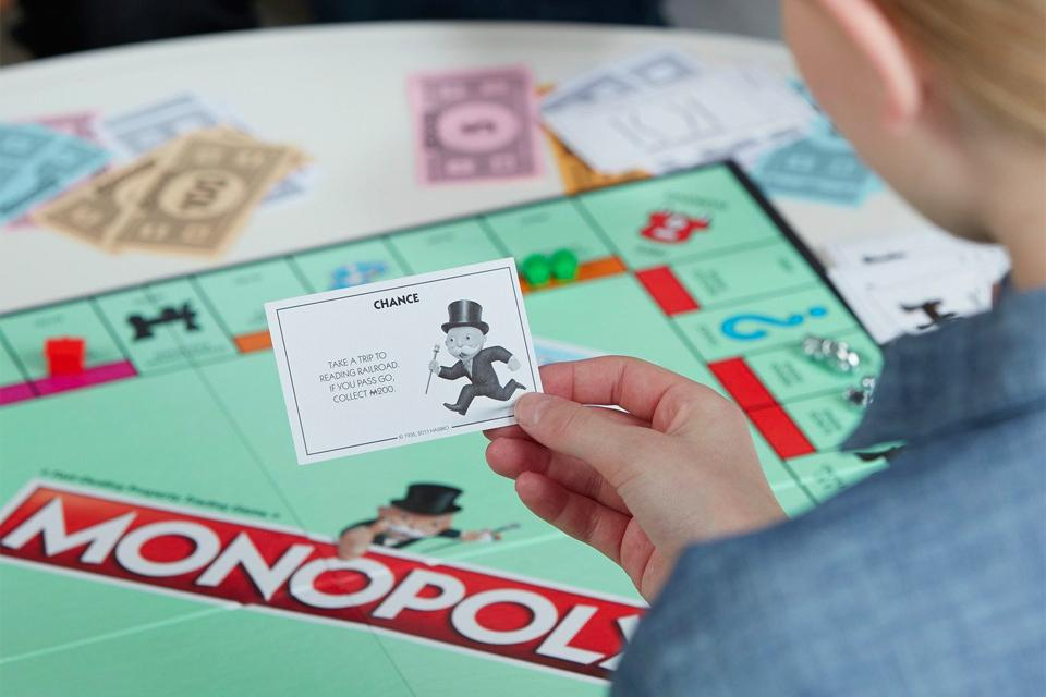 A game of Monopoly.