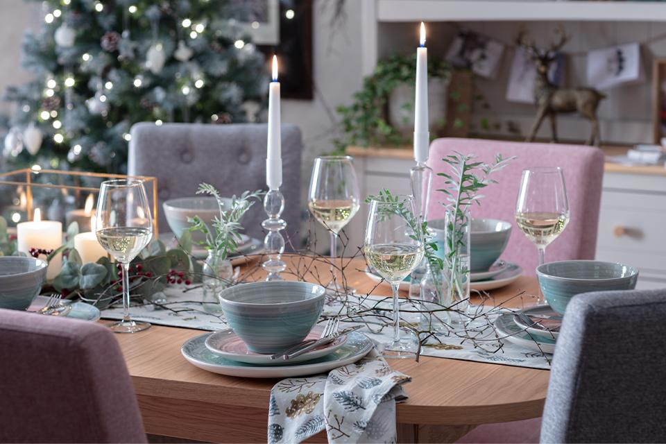 Christmas table ideas.