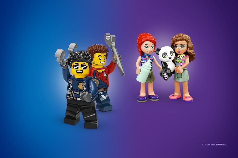 Save 20% on selected LEGO® Ninjago, City and Friends!