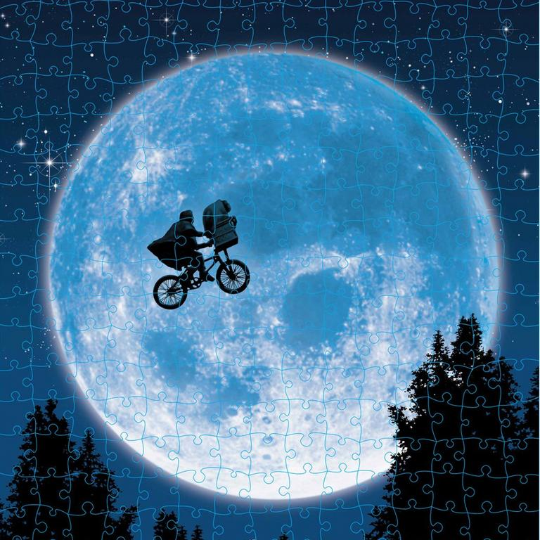 An ET themed jigsaw puzzle.