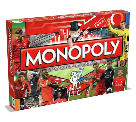 Buy Liverpool FC Monopoly Board Game at Argoscouk Your Online – Liverpool Fc Birthday Card
