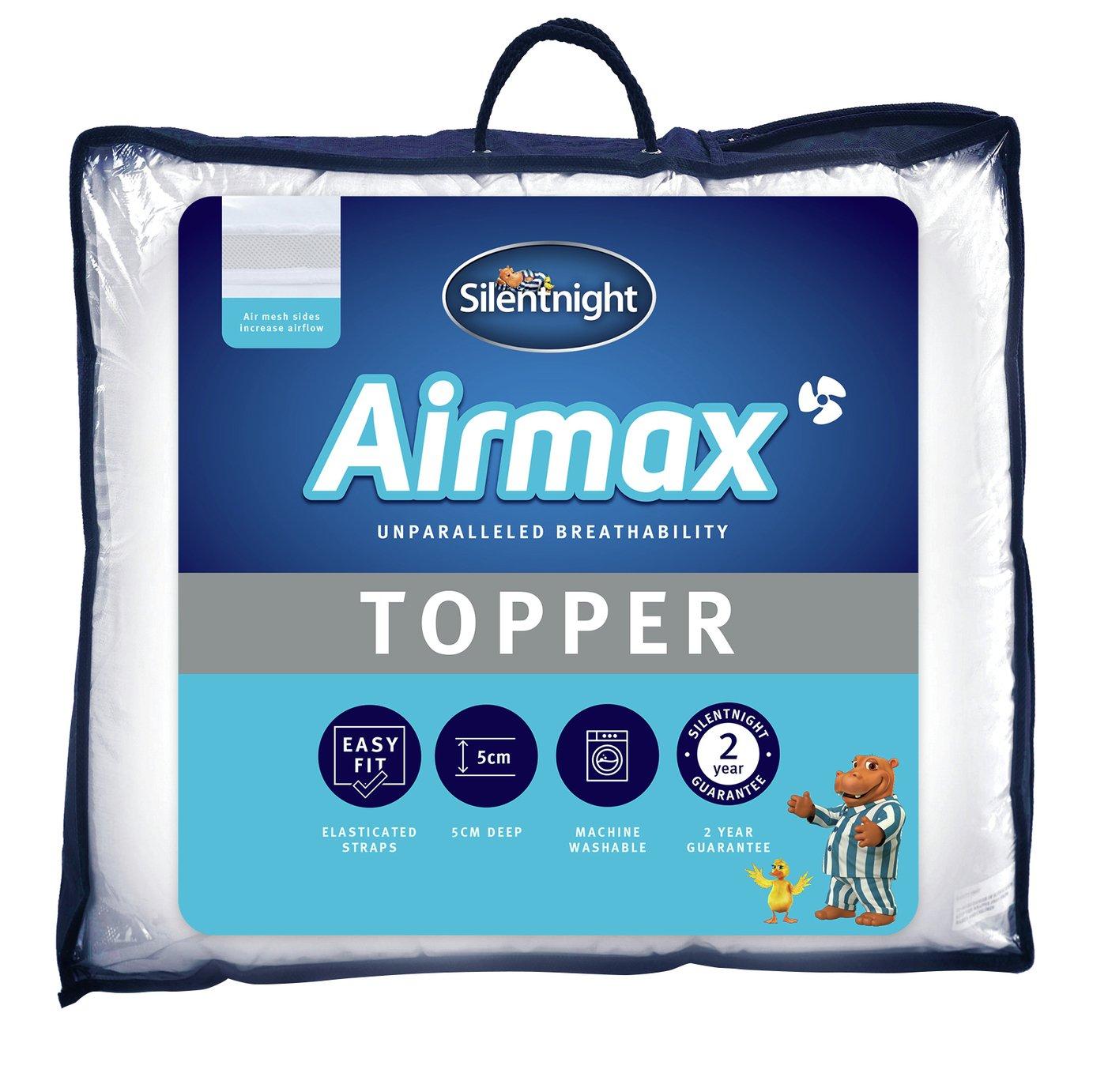Silentnight Airmax Mattress Topper - Kingsize