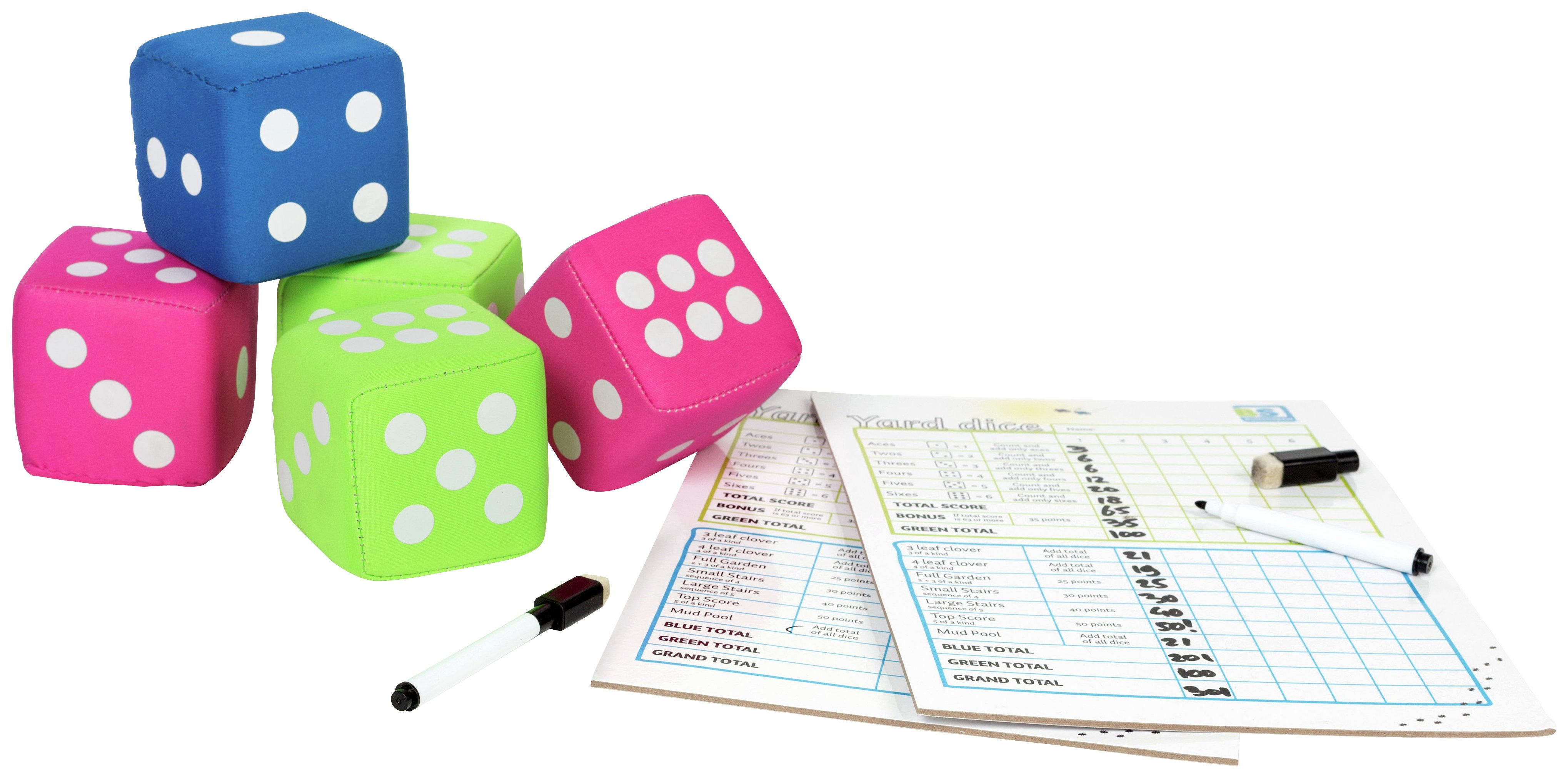 BuitenSpeel Yard Dice Game.