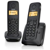 Gigaset - A120 X2 - Cordless Telephone TAM - Black