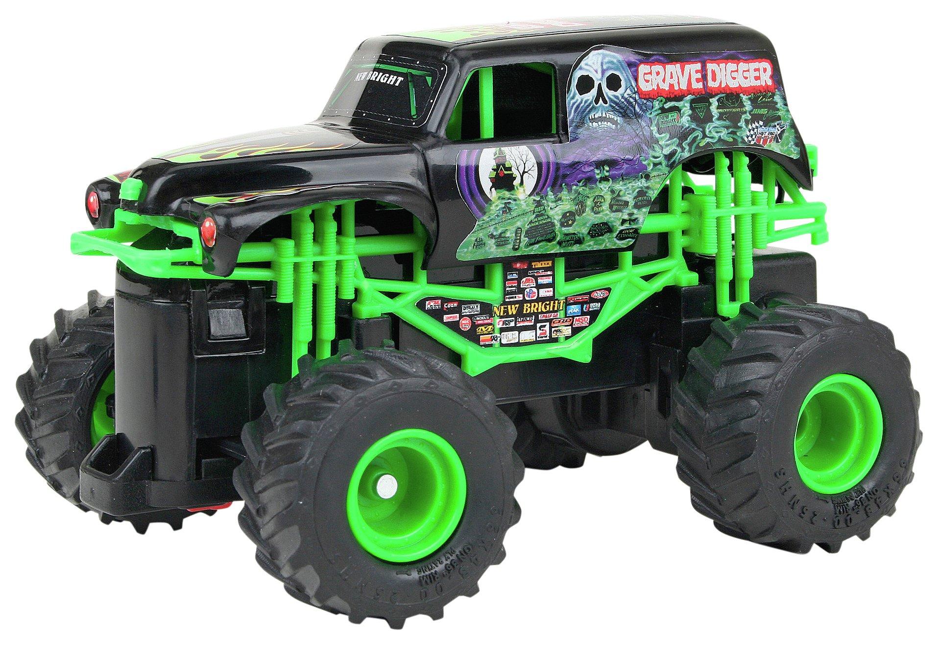 New Bright - RC Monster Jam 360 Ramp 1:43