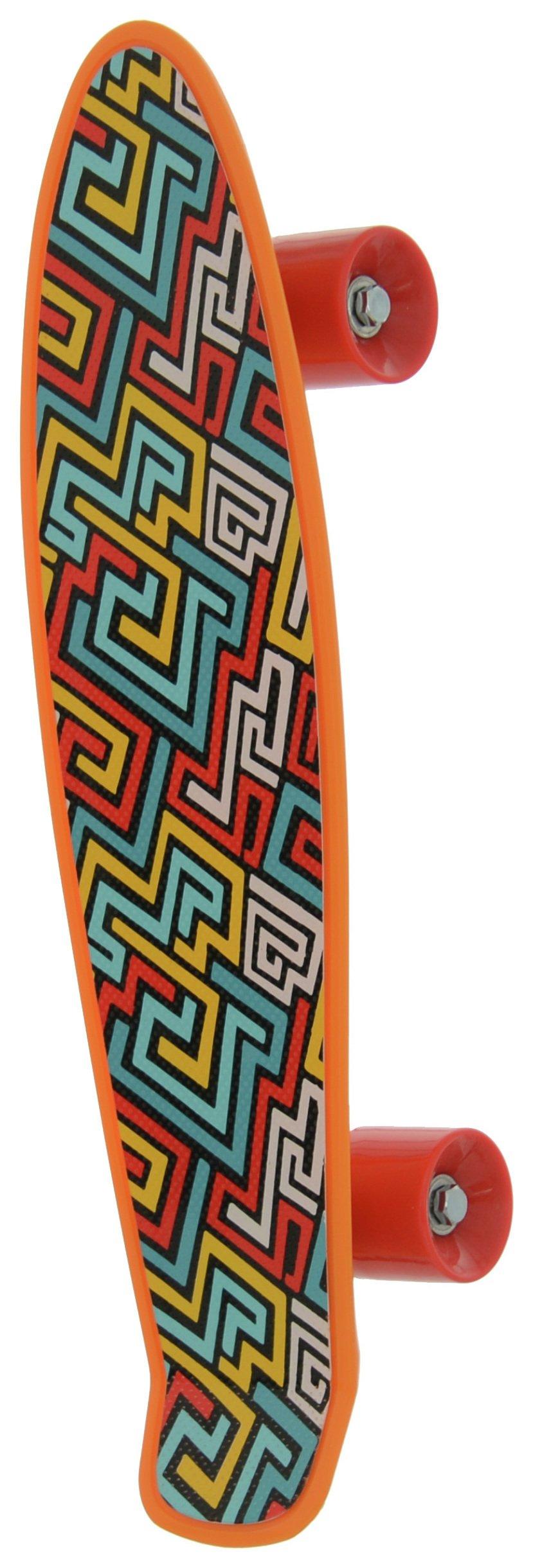 Image of Bored - Neon X Skateboard - Aztec