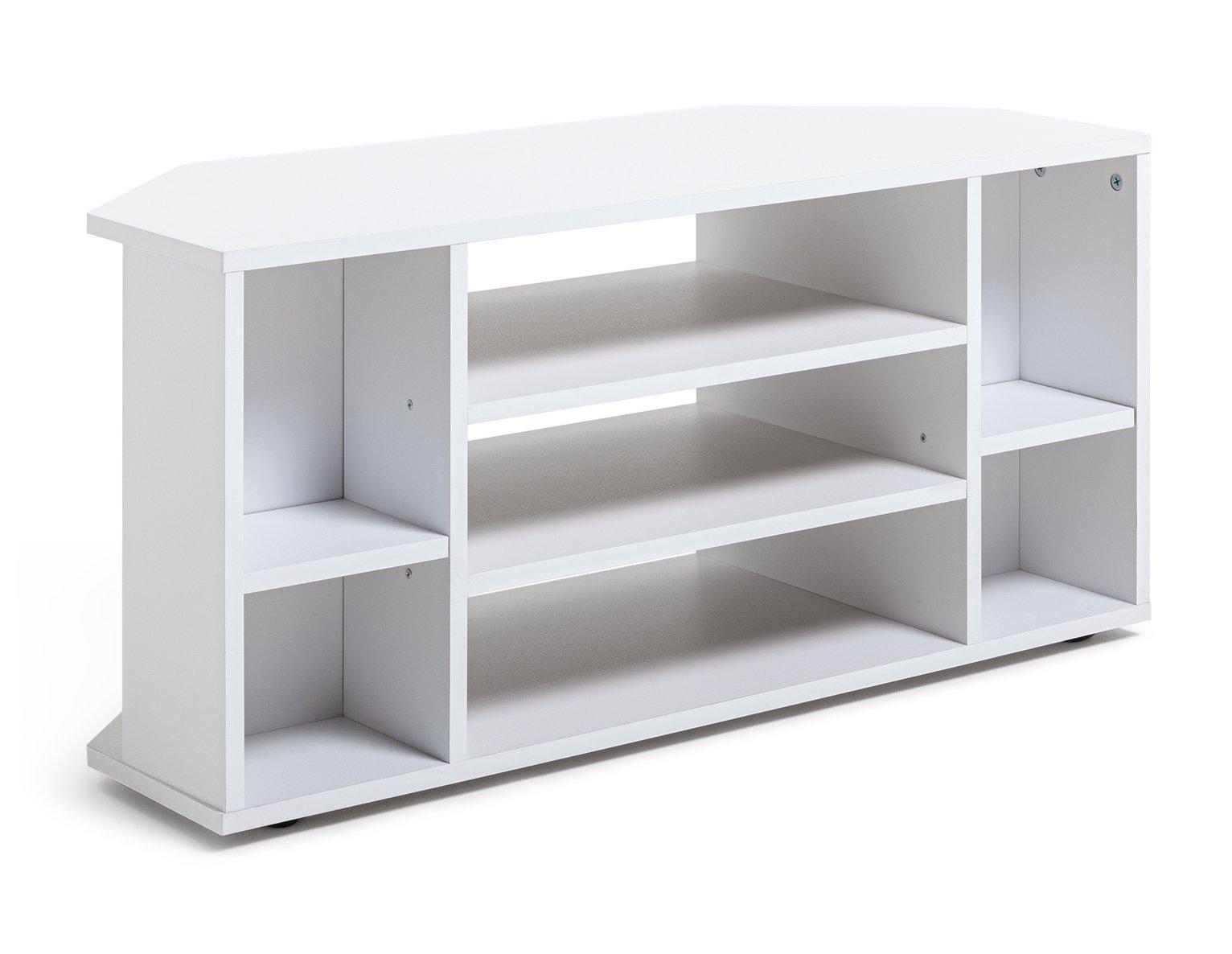 Habitat Suki Corner TV Unit - White