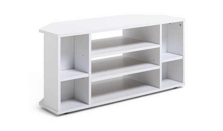 Habitat Suki Corner TV Unit - White