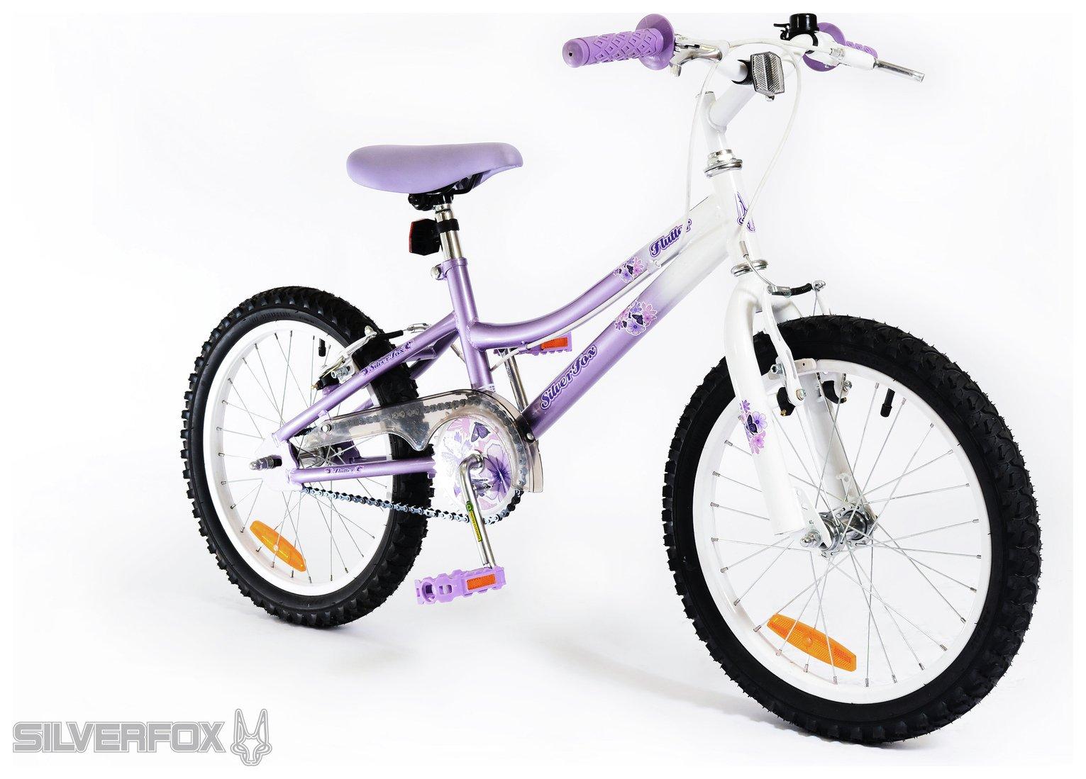 Silverfox Flutter 18 Inch Kids Bike