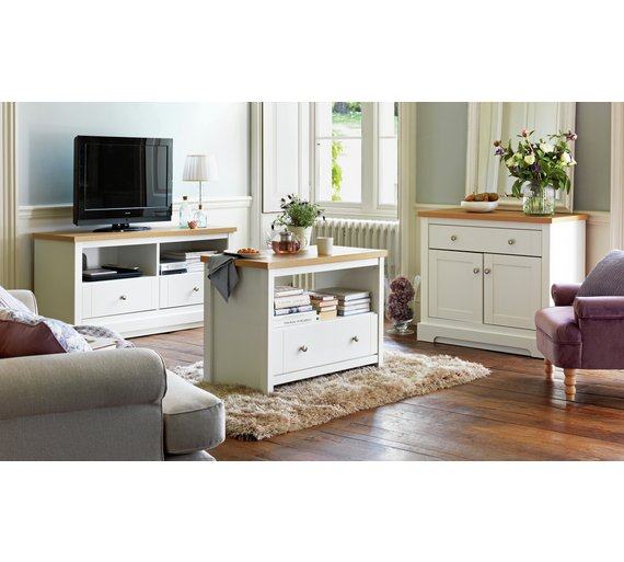 Buy Heart Of House Westbury 2 Door 1 Drawer Sideboard White At Your Online Shop