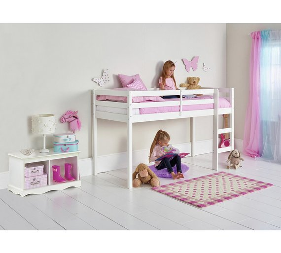 Argos Home Kaycie Wood Mid Sleeper Shorty Bed Frame