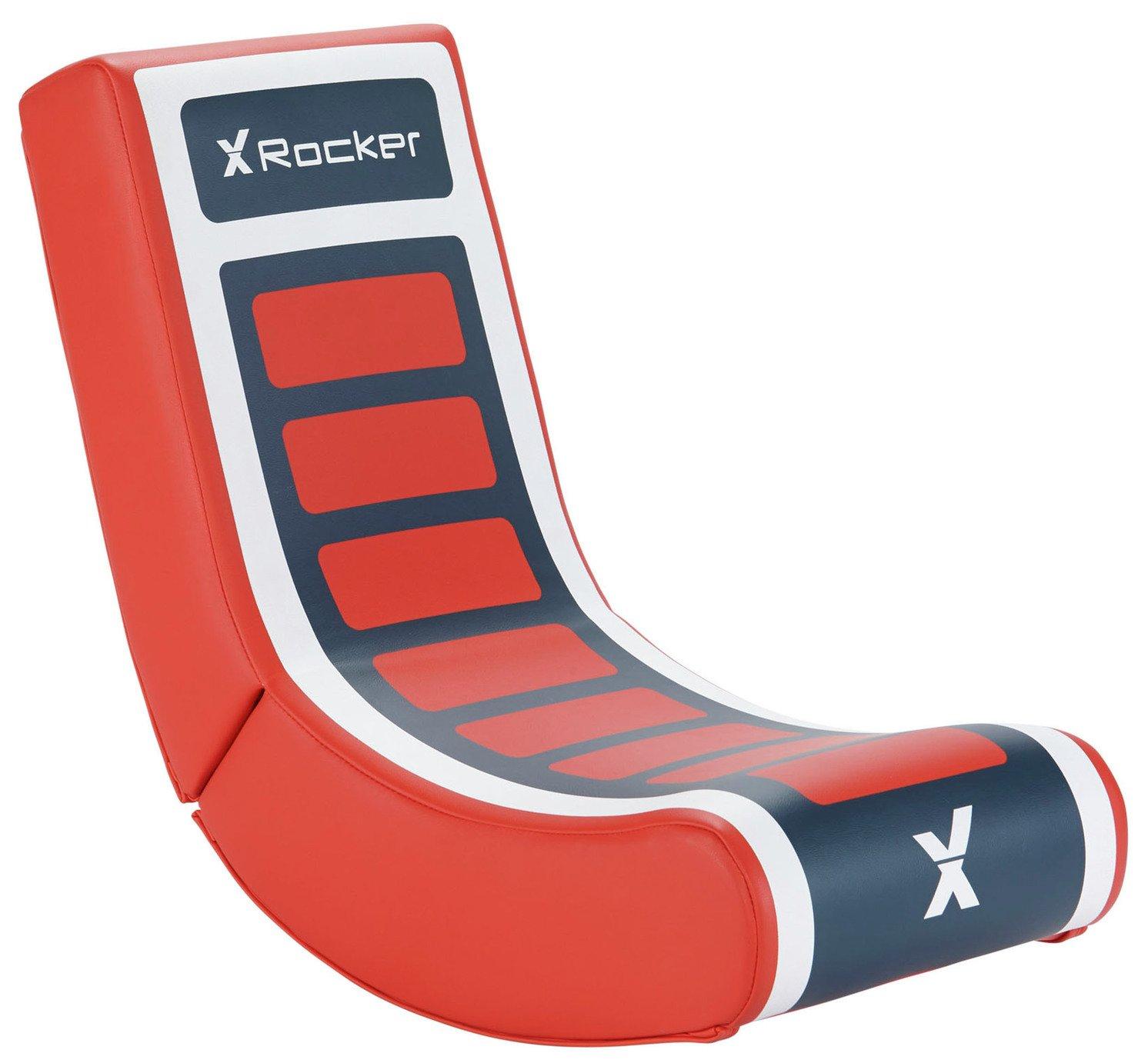 X-Rocker Video Rocker Junior Gaming Chair - Red