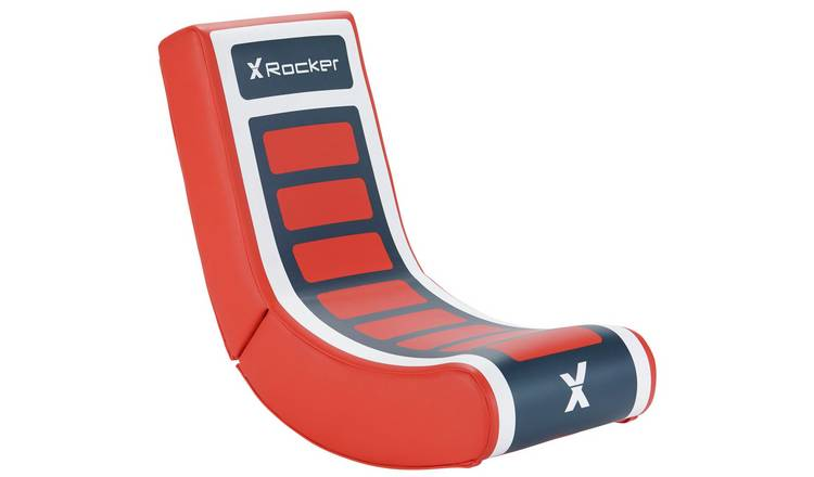 X-Rocker Video Rocker Junior Gaming Chair - Red