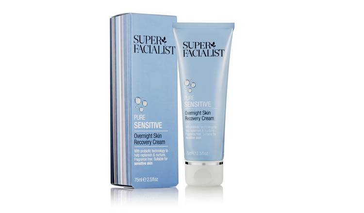 Super Facialist Pure Sensitive Overnight Cream - 75ml
