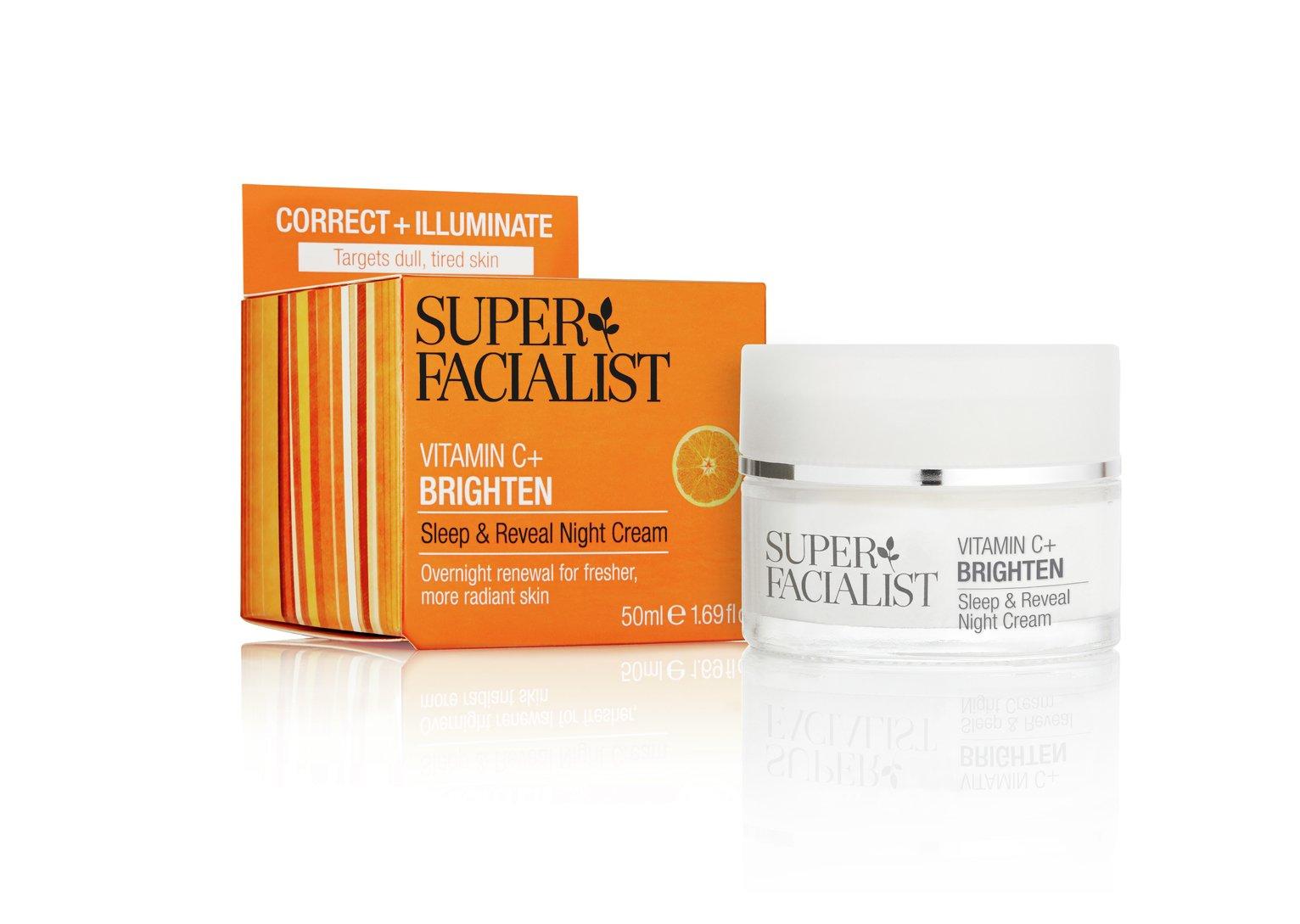 Super Facialist Vitamin C Night Cream - 50ml