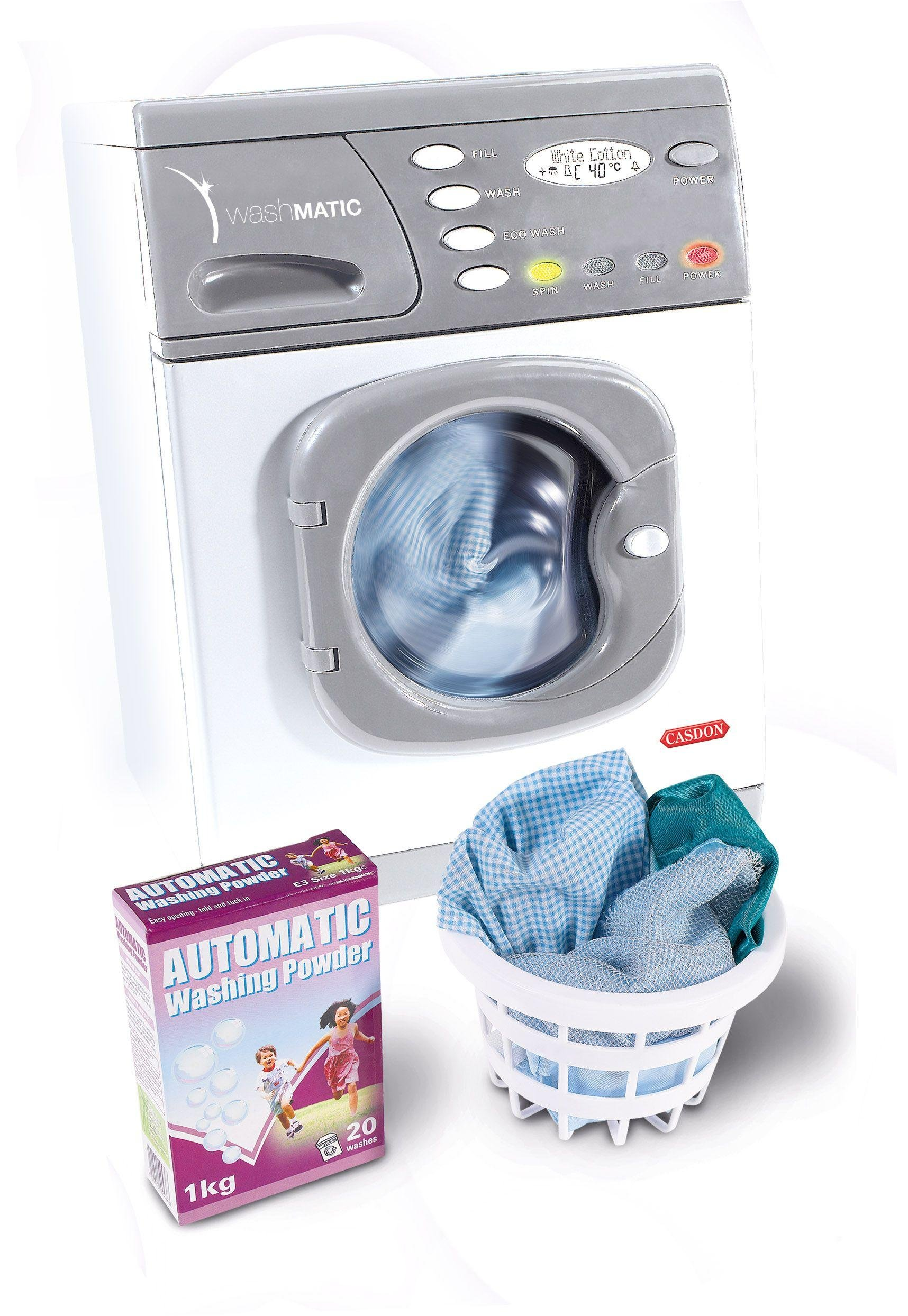 Image of Casdon - Electronic Children's Washer